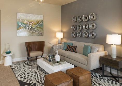 Apartments at Blakeney - Living Room