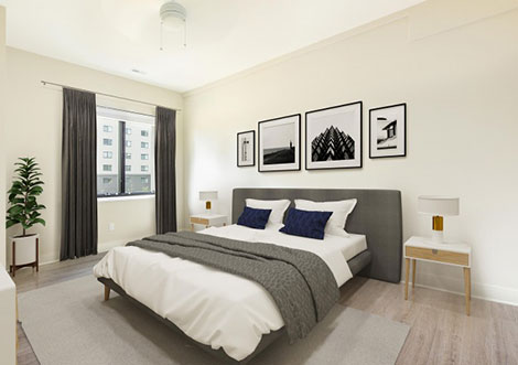 Vista Towers - Bedroom