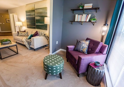 Legacy at Manchester - Living Nook